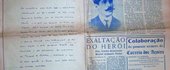 14 de Outubro 1918 relembrado nos Açores