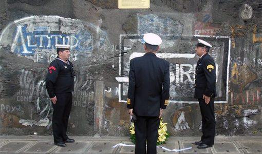 Militares homenageados no Porto da Horta