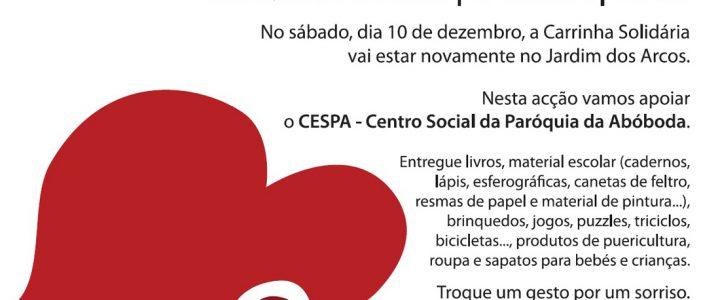 A.C.C.A. apoia Carrinha Solidária
